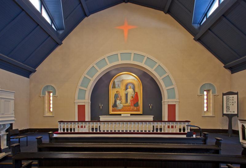 Kylmäkosken kirkon alttari