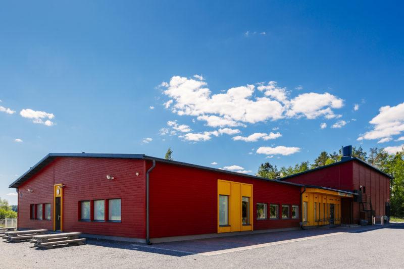 Kuva Kylmäkosken koulusta