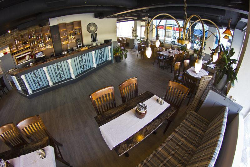 Ravintolan sali
