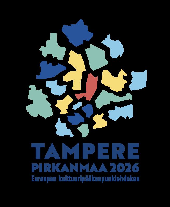 Tampere kulttuuripääkaupungiksi logo