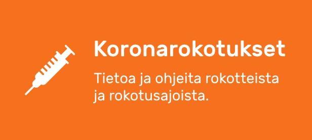 Koronarokotukset banneri
