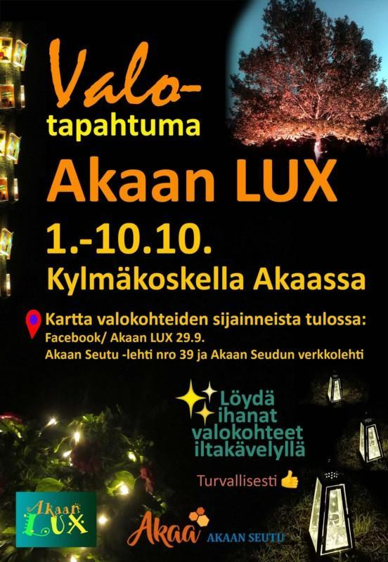Akaan LUX 2021 mainos