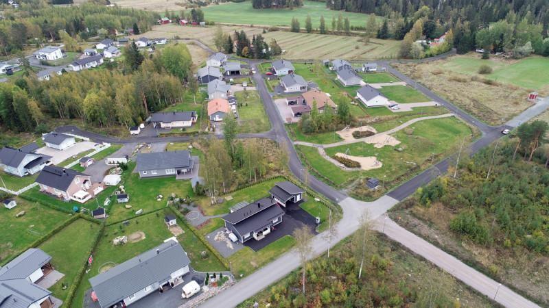 uudenkylän asuinalue ilmasta kuvattuna